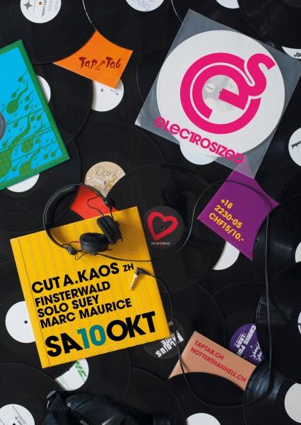 DJs Cut A. Kaos (ZH), Finsterwald, Marc Maurice, Solo Suey