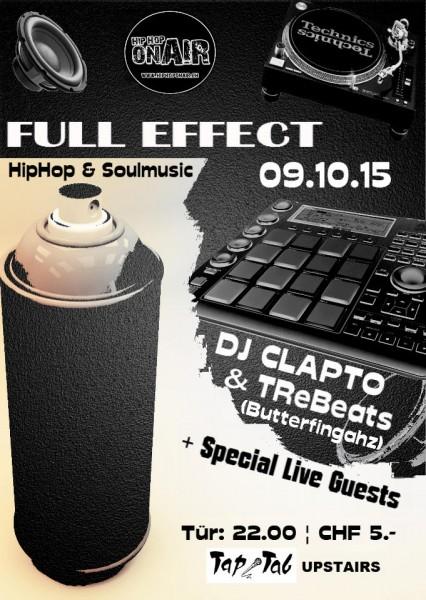 DJs Clapto & Tre – Plus Special Live Guest