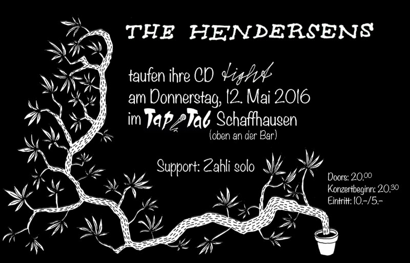 The Hendersens (SH), Support: Zahli solo (SH)