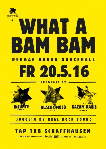 Showcase by Infinite (JAM), Kazam Davis (JAM), Black Omolo (KEN); Juggling by Real Rock Sound