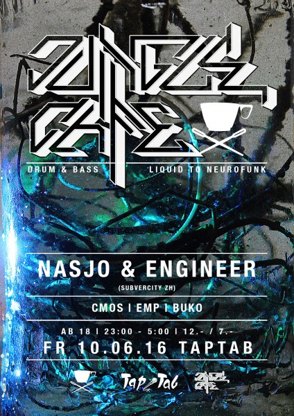 DJs Nasjo & Engineer (Subvercity/ZH), JC Crew aka Buko, Cmos, EMP (SH)