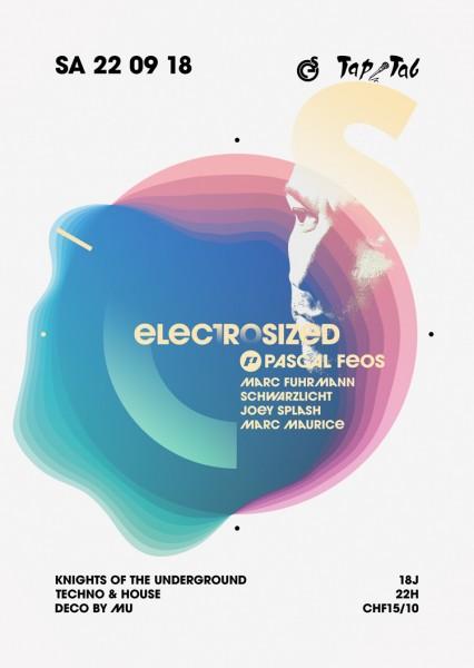 DJs Pascal FEOS (Need for Groove/levelNONzero), Marc Fuhrmann (Panthera Records/ZH), Schwarzlicht b2b Joey Splash (UnterDenSternen), MarcMaurice (electrosized)