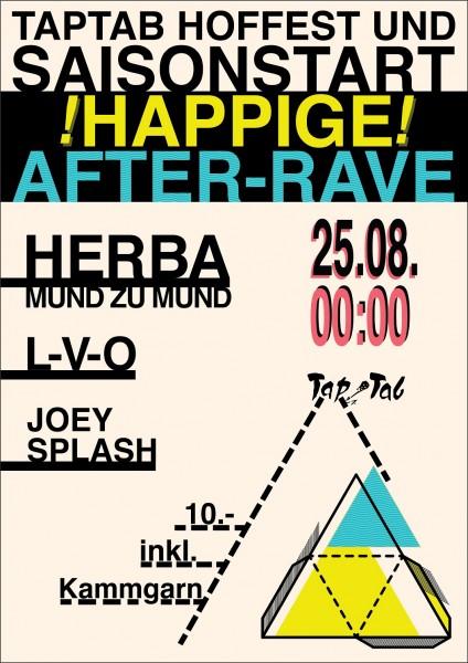 DJs Herba (Mund zu Mund»/ZH), Joey Splash, L-V-O