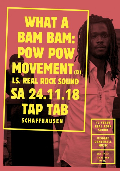 Pow Pow Movement (D), ls. Real Rock Sound