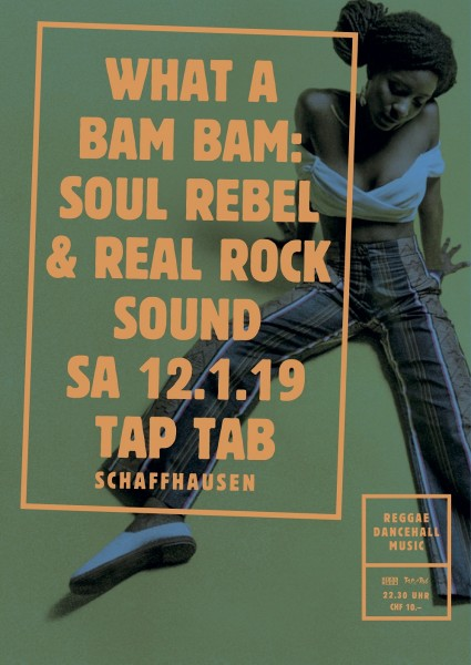 Soul Rebel Sound (GR/BE) ls. Real Rock Sound