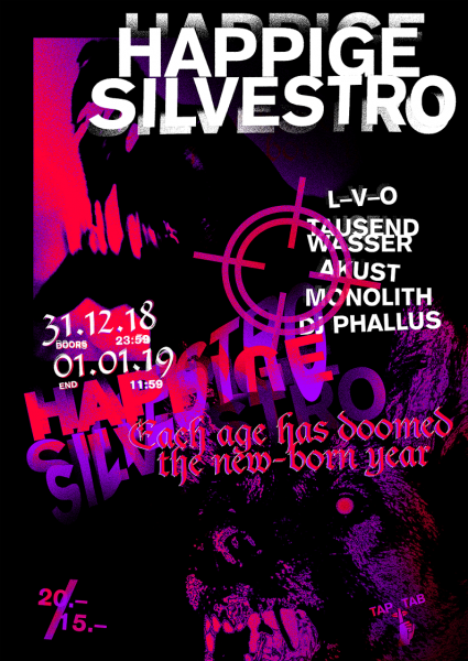 DJs L-V-O, Tausendwasser, Akust, Monolith, Phallus