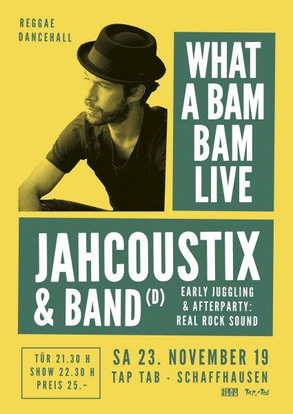 Jahcoustix & Band (D), juggling by Real Rock Sound