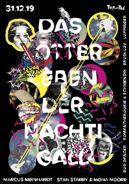DJs Marcus Meinhardt (Heinz Music/Berlin), Stan Starry (Betriebsfeier/Berlin), Mona Moore (Kater Blau/Berlin), Bud Dancer (Club Liberté/Berlin), romantherookie (DLdN/SH), Schwendix (DLdN/SH), Brudi Löv (38er Löv/ ZH), Luppinger (Berlin)