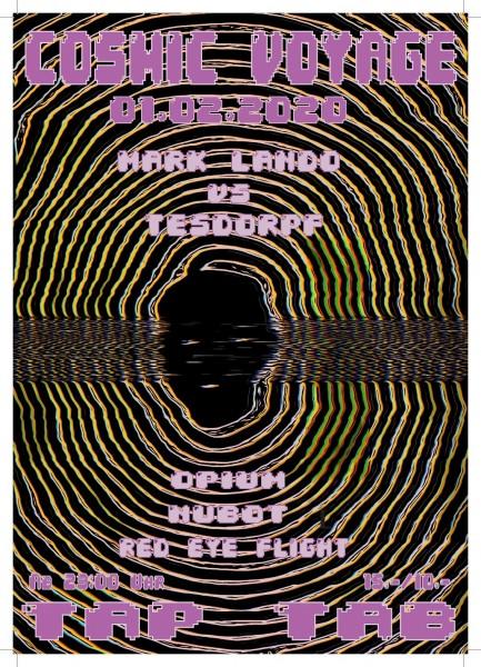 DJs Opium (Onion Brothers/I), Red Eye Flight (Live from Tomorrow/AG), Mark Lando vs. Tesdorpf (Swim, Elysia/BS), Nubot (Onion Brothers/SH)