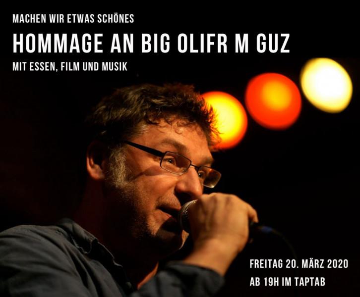 Hommage an Big Olifr M Guz - Film: «Die Aeronauten 16:9 – Die ersten 25 Jahre» (R: Hipp Mathis/CH 2015), Essen von Pepi